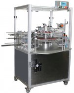 Vertical compact cartoning machine